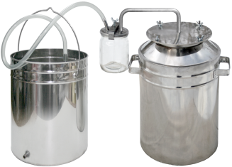 Bigger camping steam-dome jar distiller фото 1271