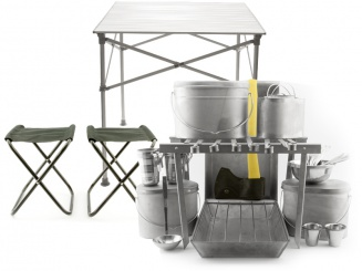 Super-big camping set (titanium) фото 1473