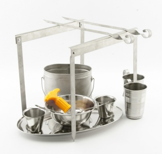 Two persons camping set (titanium) фото 1479