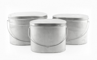 Pot set - 3 pieces (I) фото 1401
