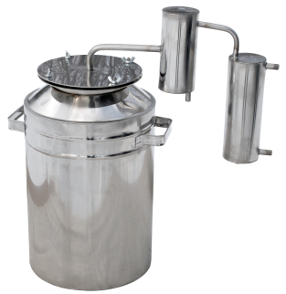 New big household metal steam-dome distiller фото 1261