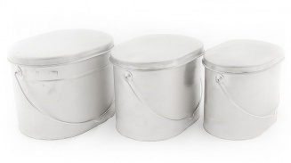 Pot set - 3 pieces (I) фото 1402