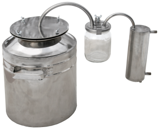 Smaller household steam-dome jar distiller фото 1273